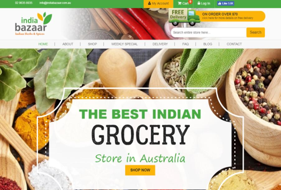 India Bazaar, Indian Grocery Stores in Sydney, Australia
